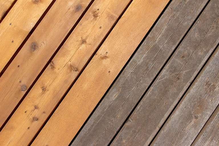 Natural Wood Decking