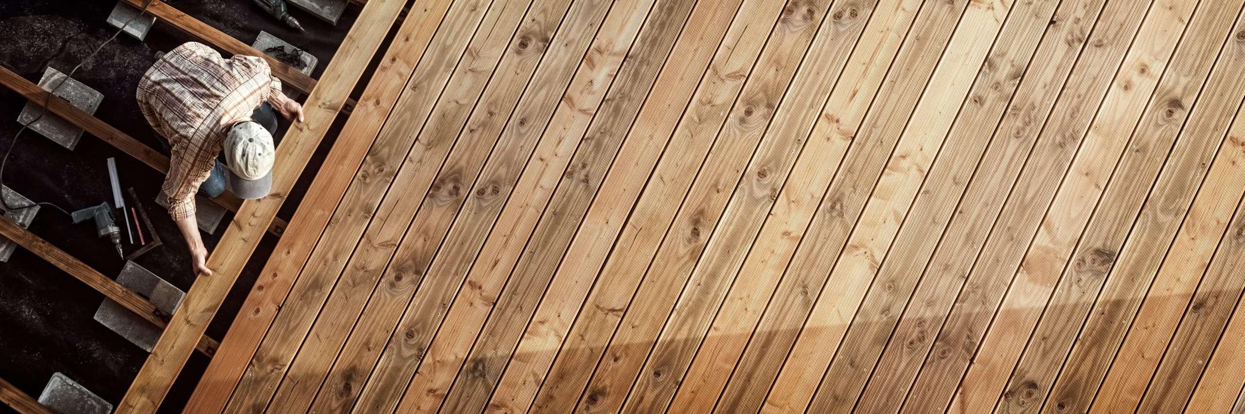 Composite Decking Natural Wood Decking